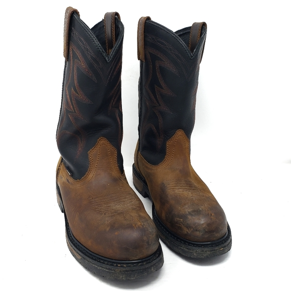 Red Wing Pecos Boots Steel Toe